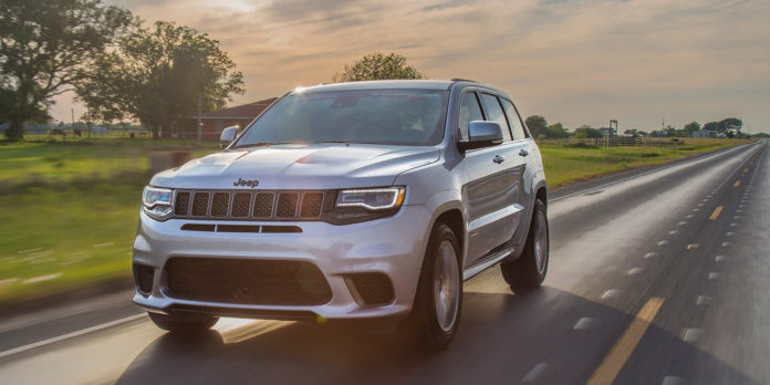 Мощность Jeep Grand Cherokee Trackhawk увеличили до 1200 л.с.