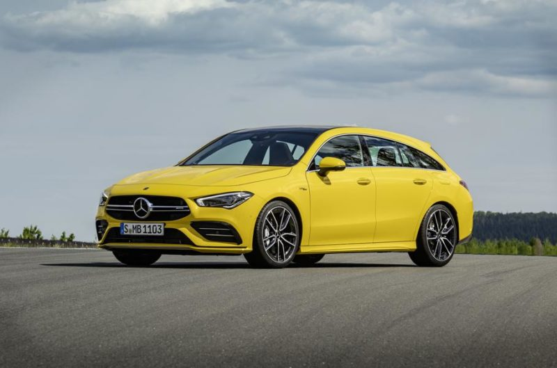 Mercedes-Benz CLA Shooting Brake получил AMG-версию